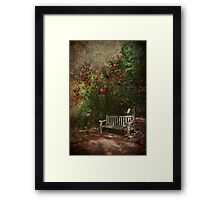 Stay With Me Here Framed Print