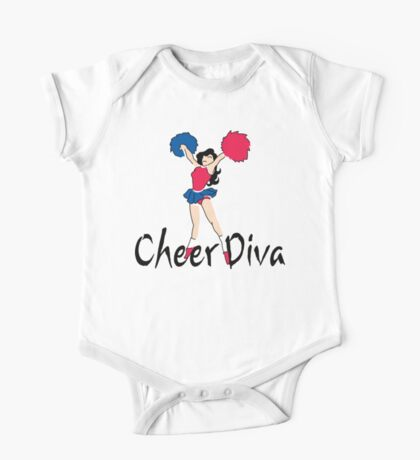 "Cheerleading ""Cheer Diva"" One Piece - Short Sleeve"