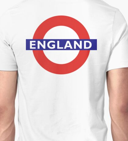 TUBE, UNDERGROUND, ENGLAND, English, UK, LONDON, BRITISH Unisex T-Shirt