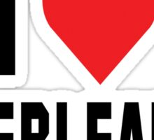 "Cheerleader ""I Love Cheerleading"" Sticker"