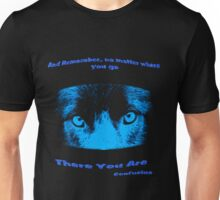 Inspirational Reflection Confucius Quote Unisex T-Shirt