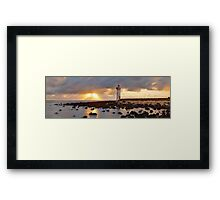 Port Fairy Lighthouse, Victoria, Australia Framed Print