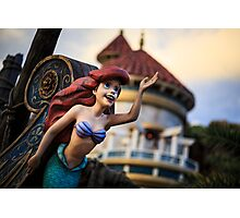 Ariel ~ The Little Mermaid Photographic Print