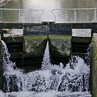 Sluicing Lock Gate by WhyteAugust