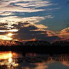 Ohio River Sunsets by kentuckyblueman