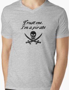 Trust me I'm a pirate Mens V-Neck T-Shirt