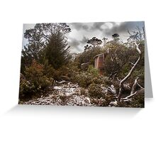 Snow Fall at Windermere Greeting Card