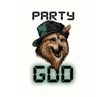 Party God Art Print