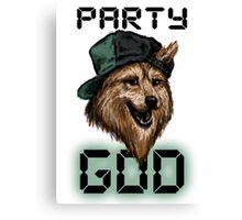 Party God Canvas Print
