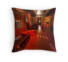 The old train Throw Pillow