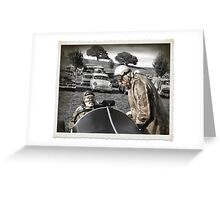 Driving Ambition Greeting Card