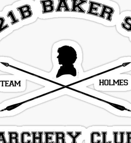 221b Baker Street Archery Sticker