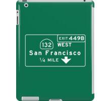 San Francisco, Road Sign, California iPad Case/Skin