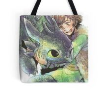 How to train your dragon 'Hug' Tote Bag