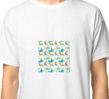 Festive Dinosaurs Classic T-Shirt