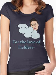 For the love of Helders Women's Fitted Scoop T-Shirt