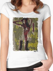 Lady Bytes Ladies #11 Women's Fitted Scoop T-Shirt