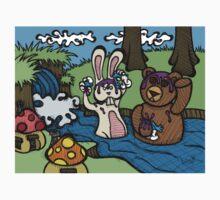 Teddy Bear And Bunny - Shampoo T-Shirt