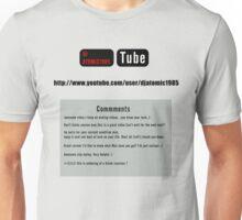 Youtube Comments  Unisex T-Shirt