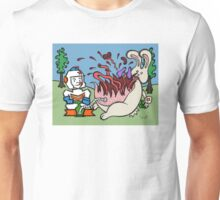 Teddy Bear And Bunny - Pop Unisex T-Shirt