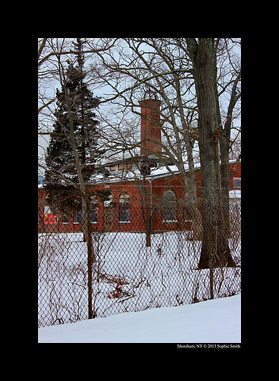 Nikola Tesla's Wardenclyffe Laboratory Building - Shoreham, New York by © Sophie W. Smith
