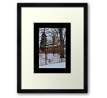 Nikola Tesla's Wardenclyffe Laboratory Building - Shoreham, New York Framed Print