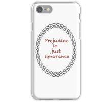 Prejudice 2 iPhone Case/Skin