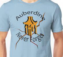 Auberdine: never forget Unisex T-Shirt