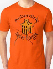 Auberdine: never forget T-Shirt