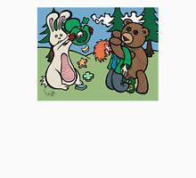 Teddy Bear And Bunny - Not So Lucky Unisex T-Shirt