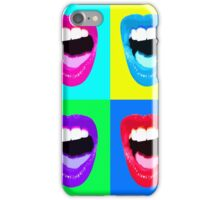 Warhol Lips iPhone Case/Skin