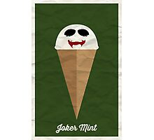 Joker Mint Photographic Print