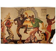 Pancho's Dancers Poster