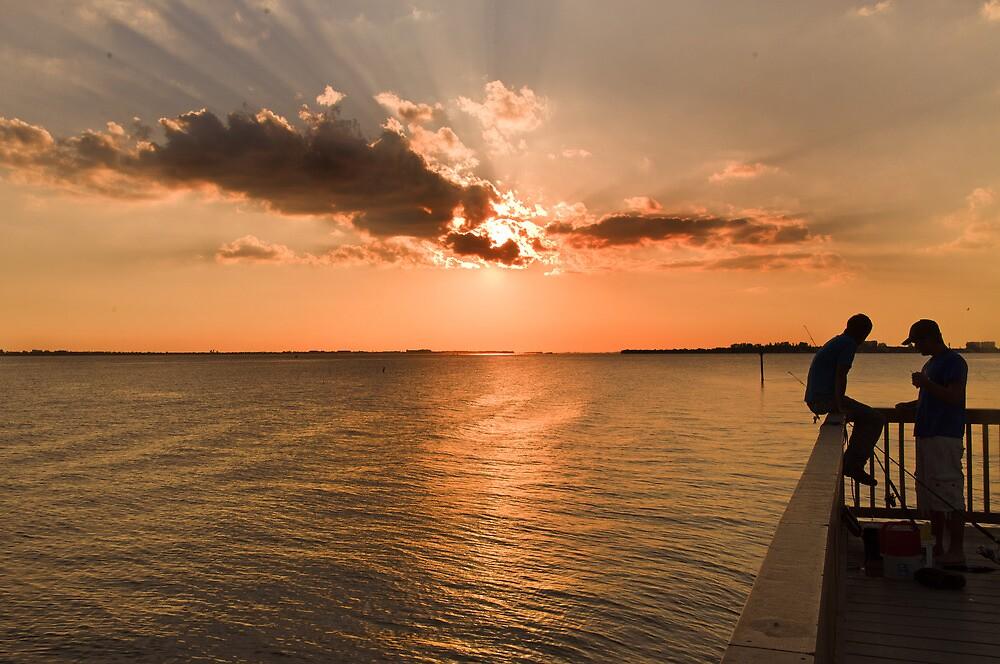 Fishing  by John  Kapusta