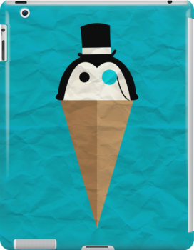 Peppermint Penguin by Adam Grey