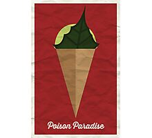 Poison Paradise Photographic Print