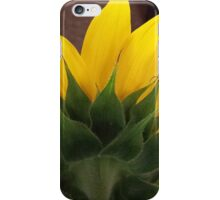 Backside of the Sunflower iPhone Case/Skin