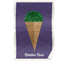 Riddler Rum Poster