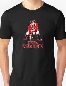 London Redcoats Red script Unisex T-Shirt