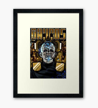 Davros Framed Print