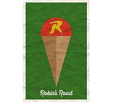 Robin's Road Photographic Print