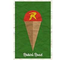 Robin's Road Photographic Print
