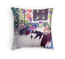 His Room Throw Pillow