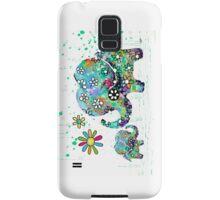 blooming elephants Samsung Galaxy Case/Skin