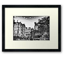 Reflection. Paris Canal Framed Print