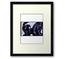 Blue Latex, 2014 Framed Print