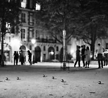 Night Bowling in Paris by Andrew & Mariya  Rovenko