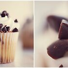 Chocolate Chip Cupcake Collage by Tracy Jones