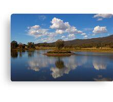 Peaceful Reflection  NSW AUSTRALIA  Canvas Print