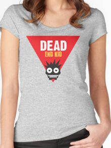 Dead End Kid Sign Women's Fitted Scoop T-Shirt